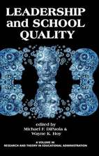 Leadership and School Quality (Hc):  New Directions in History Education Research (Hc)