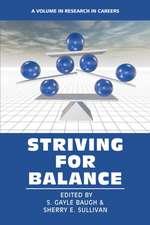 Striving for Balance