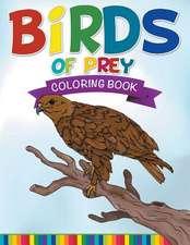 Birds of Prey Coloring Book:  Super Fun Edition