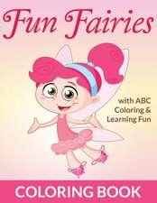 Fun Fairies Coloring Book