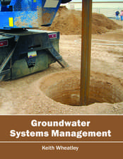 Groundwater Systems Management