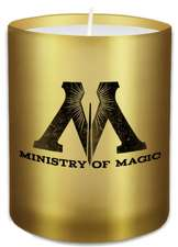 Harry Potter Ministry of Magic Glass Votive Candle