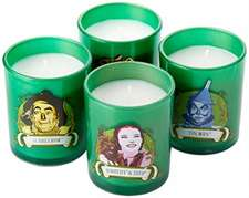 Insight Editions: The Wizard of Oz Glass Votive Candle Set