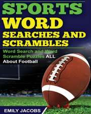 Sports Word Searches and Scrambles
