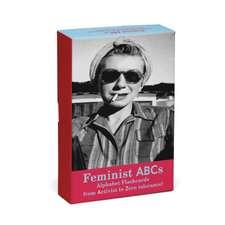 Knock Knock Feminist ABCs Alphabet Flashcards