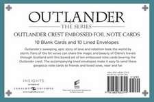 Outlander: Fraser Crest: Embossed Foil Note Cards