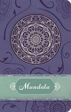 Mandala Hardcover Ruled Journal