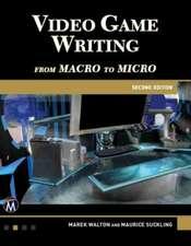 Video Game Writing
