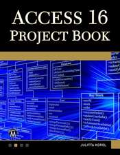 Access 16 Project Book