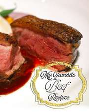 My Favorite Beef Recipes: All Your Favorite Beef Recipes in One Book