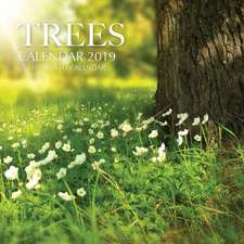 Trees Calendar 2019: 16 Month Calendar