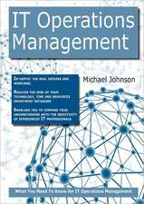 IT OPERATIONS MGMT