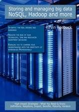 Storing and Managing Big Data - Nosql, Hadoop and More