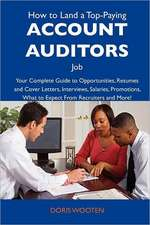 How to Land a Top-Paying Account auditors Job