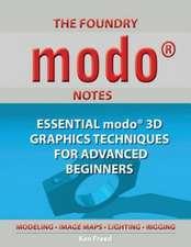 The Foundry Modo Notes