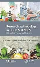 RESEARCH METHODOLOGY IN FOOD SCIENC