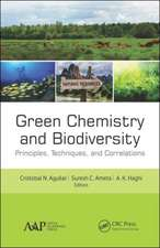 Green Chemistry and Biodiversity