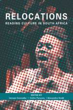 Relocations:  Reading Culture in South Africa