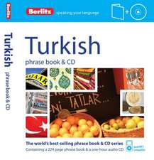 Berlitz Language: Turkish Phrase Book & CD