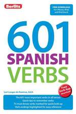Berlitz Language: 601 Spanish Verbs