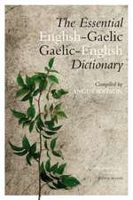 The Essential Gaelic-English / English-Gaelic Dictionary