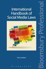 International Handbook of Social Media Laws