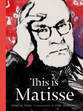 This Is Matisse:  A Sticker & Coloring Book