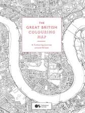 Great British Colouring Map, The:A Colouring Journey Around Brita