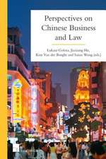 CHINESE BUSINESS AND LAW