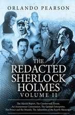 The Redacted Sherlock Holmes (Volume II)