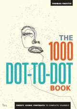 1000 Dot-to-Dot Book: Icons