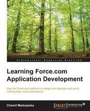 Learning Force.com Application Development