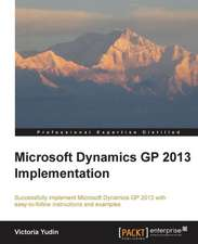 Microsoft Dynamics GP 2013 Implementation