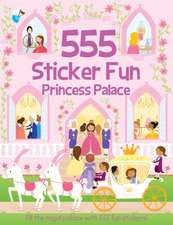555 Sticker Fun Princess Palace