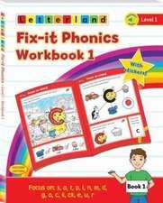 Fix-it Phonics - Level 1 - Workbook 1 (2nd Edition)
