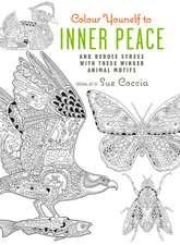 Colour Yourself to Inner Peace: And reduce stress with these winged animal motifs