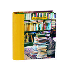 At Home with Books Mini Hardback Address Book