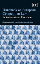 Handbook on European Competition Law – Enforcement and Procedure