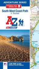 SW Coast Path Dorset Adventure Atlas