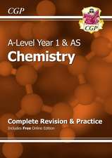 New A-Level Chemistry: Year 1 & AS Complete Revision & Pract