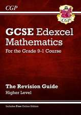 New GCSE Maths Edexcel Revision Guide: Higher - for the Grade 9-1course with Online Edtion