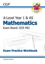 New A-Level Maths for OCR MEI: Year 1 & AS Exam Practice Workbook