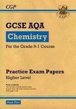 New Grade 9-1 GCSE Chemistry AQA Practice Papers: Higher Pack 2