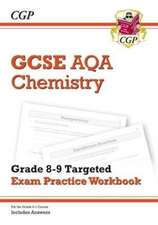 New GCSE Chemistry AQA Grade 8-9 Targeted Exam Practice Workbook (includes Answers)