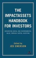 ImpactAssets Handbook for Investors