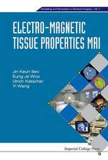 Electro-Magnetic Tissue Properties MRI:  Simulation of Electrode Processes