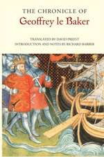 The Chronicle of Geoffrey le Baker of Swinbrook