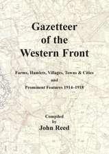 Gazetteer of the Western Front