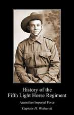 History of the Fifth Light Horse Regiment Aif