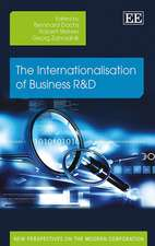 The Internationalisation of Business R&D